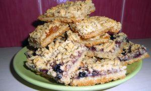Песочное печенье с вареньем и джемом