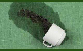 Чайное пятно не проблема — отстирается не с первого, так со второго раза