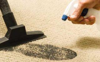 Чистим ковер в домашних условиях