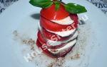 Капрезе или как приготовить простую закуску в итальянском стиле