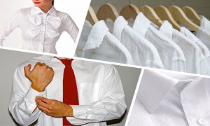 Учимся отбеливать белые рубашки
