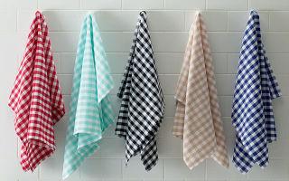 Отстирываем кухонные полотенца в домашних условиях