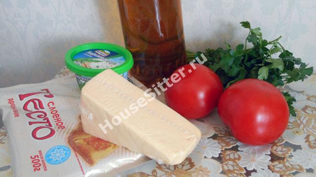 Ингредиенты для слоек