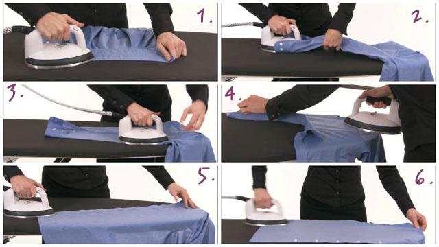 Пошаговая инструкция глажки