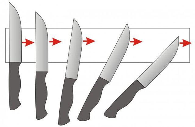 Протягиваем нож по всей длине бруска