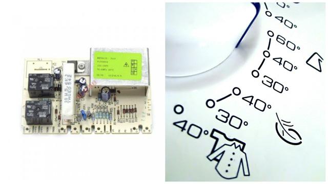 Программный модуль стиральной машины