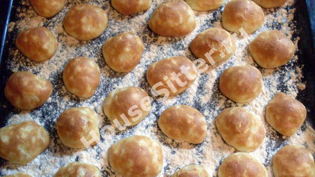 Запеченные булочки в духовке