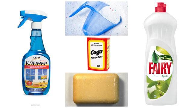 Чистер стиральный порошок сода мыло фери