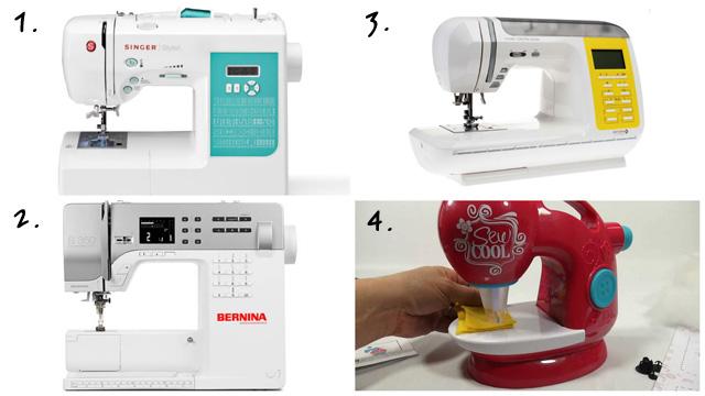 Singer Stylist 7258 Bernina В 350Astra Lux 7350 Pro и детская швейная машинка