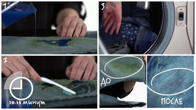 Моющее средство против зелени