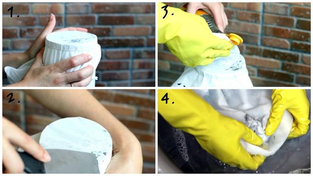 Инструкция по удалению герметика с ткани
