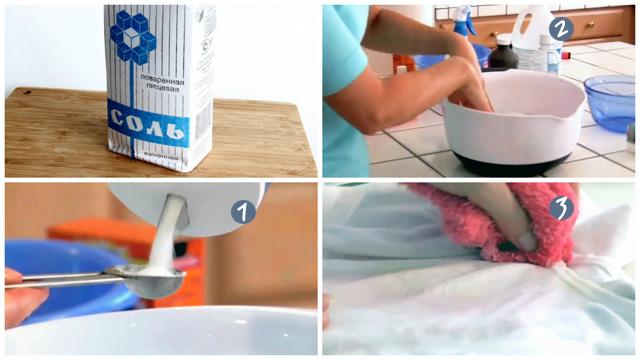 Пошаговое руководство борьбы с пахучестью одежды потом при помощи солевого раствора