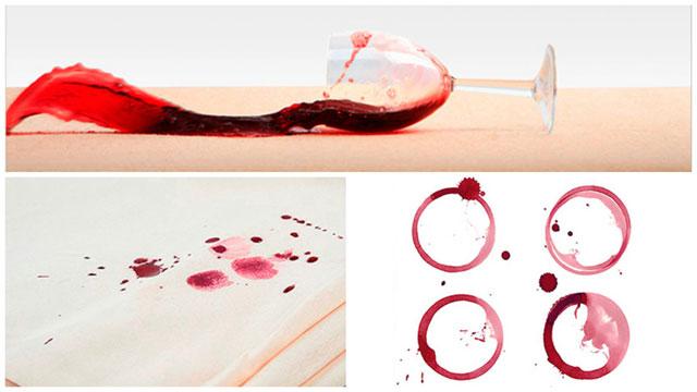 Фото-коллаж бокал вина на ковре и винные круги