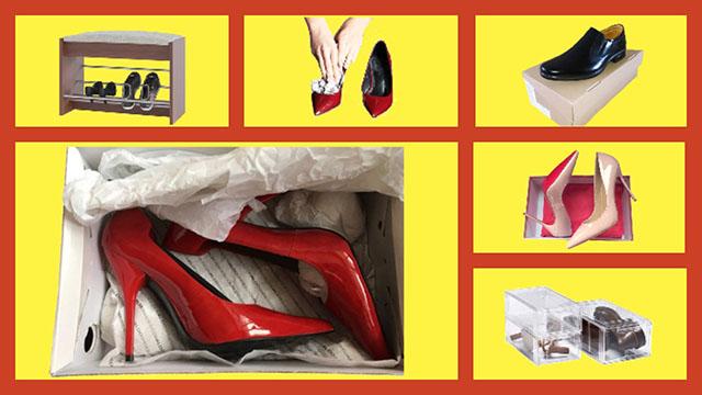 Способы хранения обуви