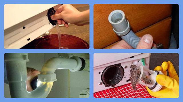 Поиск неисправности в сливе стиральной машины