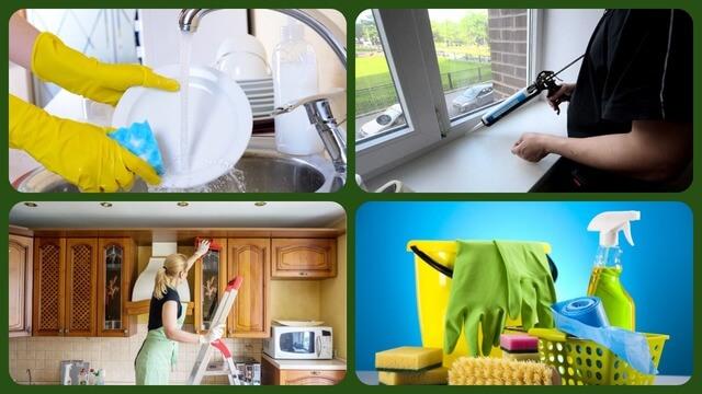 Уборка квартиры и моющие средства