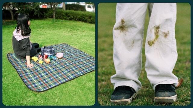 В белых джинсах на пикнике