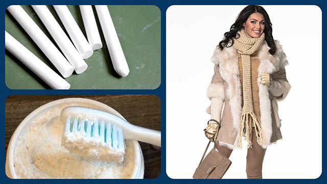 Мел и зубной порошок